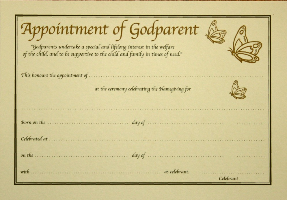 Final Appt Godparent