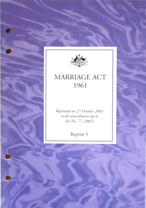 Final Marriage Act