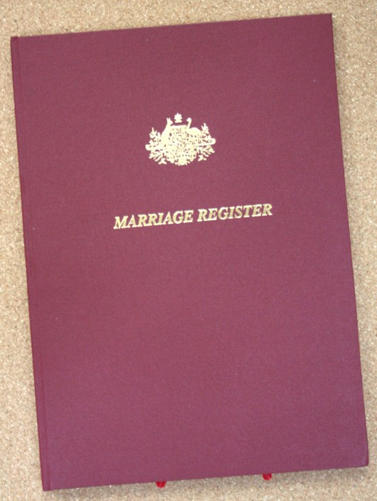 Final Marriage Register